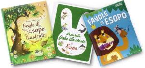 libri di favole di esopo per bambini