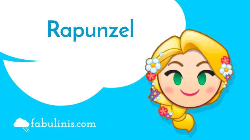 Rapunzel (Raperonzolo) 👸💈🤴