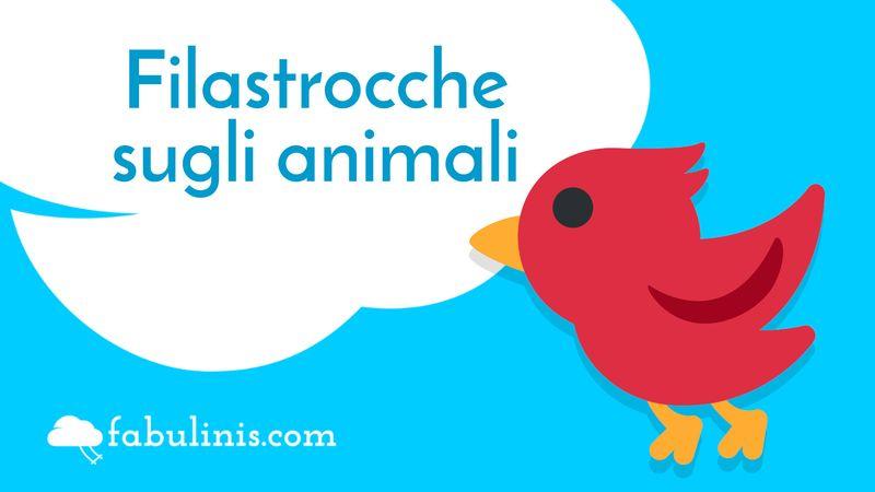 filastrocche sugli animali