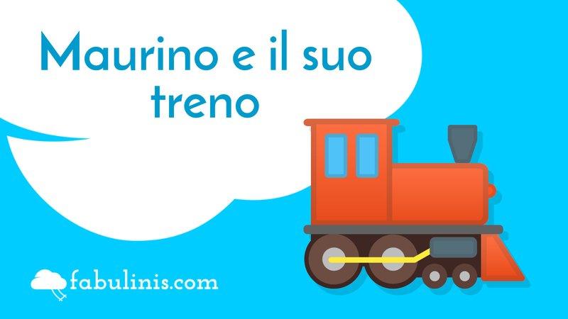 """cover di """"maurino e il suo treno"""""""