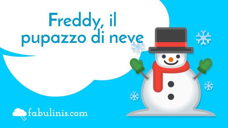 Freddy, il pupazzo di neve ☃️