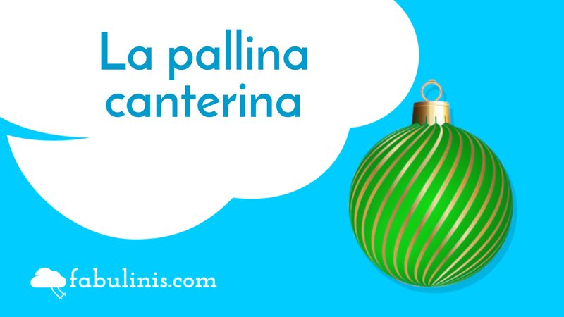 """cover della storia di natale """"la pallina canterina"""""""