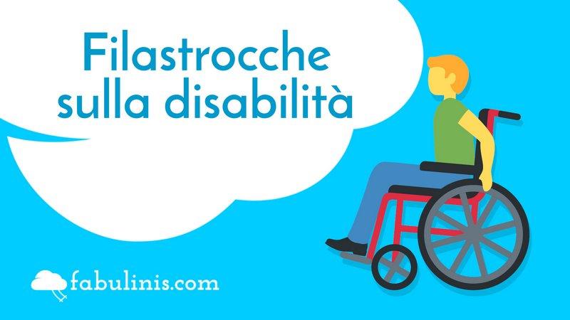 cover delle filastrocche sulla disabilità