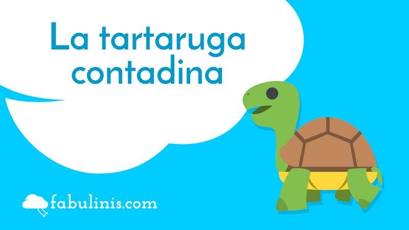 """cover della favola per bambini """"la tartaruga contadina"""""""