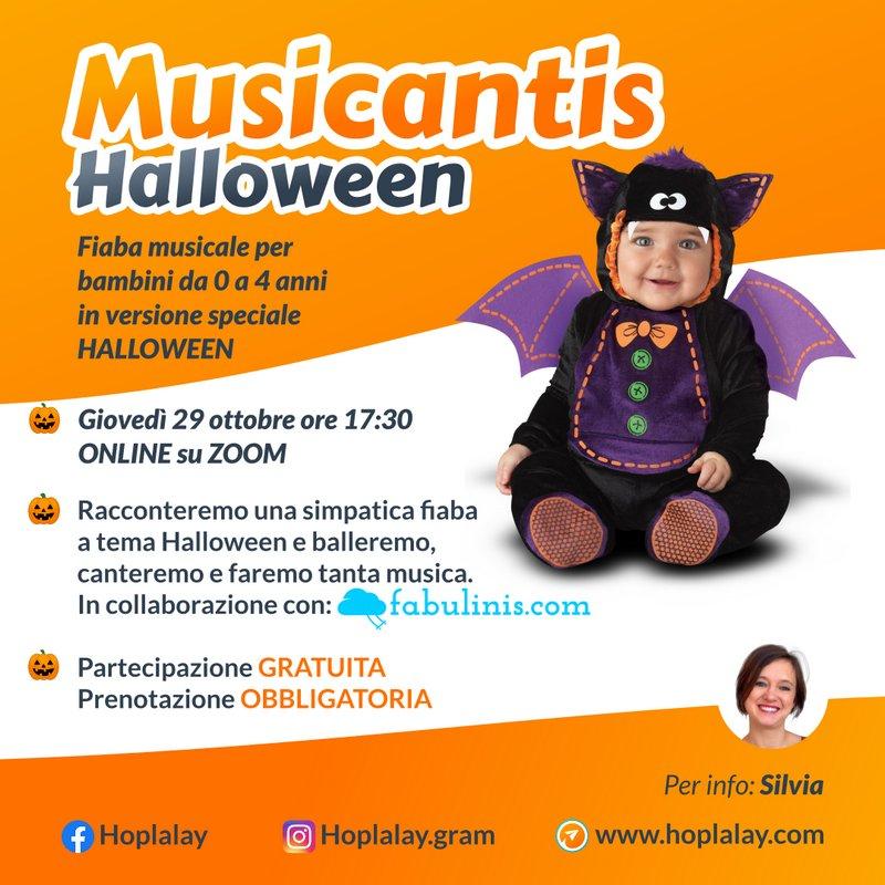 Laboratorio Musicantis speciale Halloween