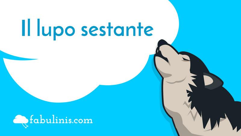 """cover del racconto """"il lupo Sestante"""""""